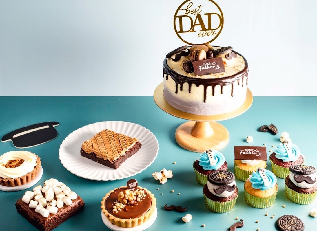 Butter Studio's desserts for Father's Day cake delivery, delivered islandwide in Singapore, powered by Oddle