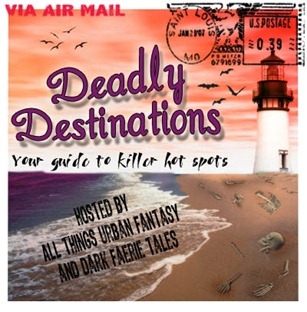 Deadly Destinations Master List & giveaway details for all 175 books!