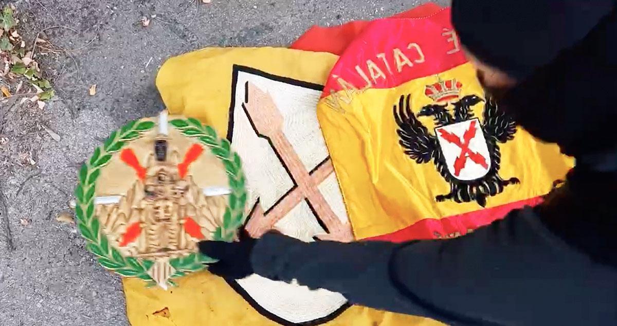 Imagen del saqueo que han perpetrado los 'nuevos CDR' en Montserrat / CG