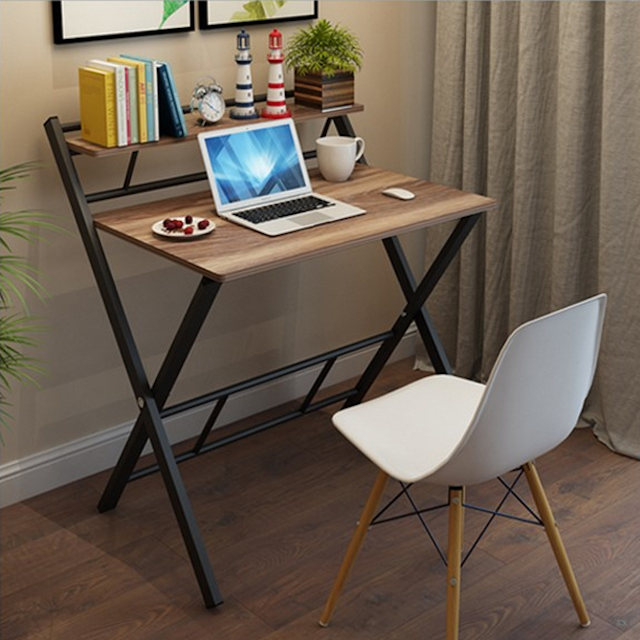 Bạn nên chọn bàn xếp gọn có thiết kế đơn giản đối với nhà có diện tích nhỏ
