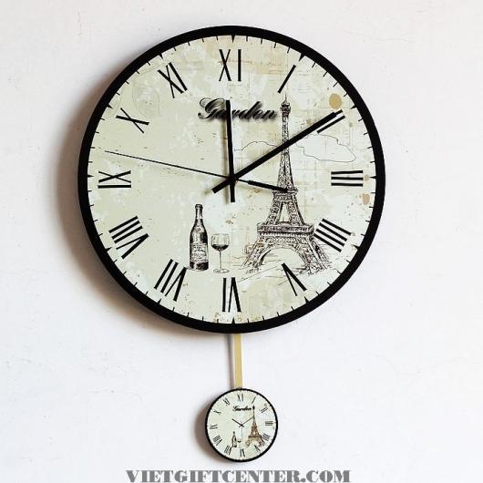 đồng hồ treo tường số la mã