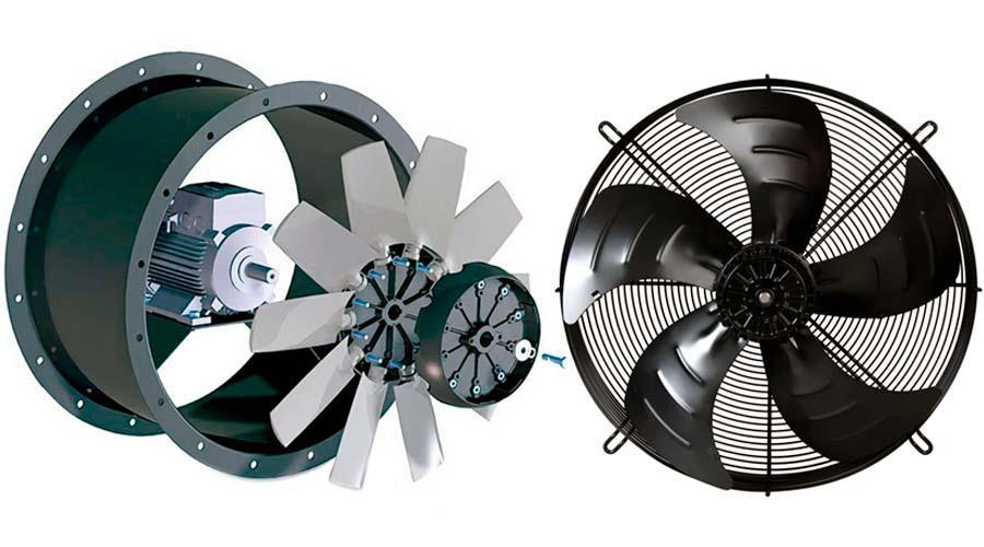Типы вентиляторов для систем охлаждения и вентиляции