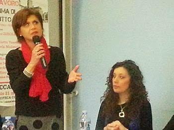 Manuela Maliziola e Federica Staccone