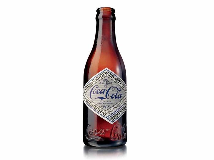 как менялась бутылка кока-колы