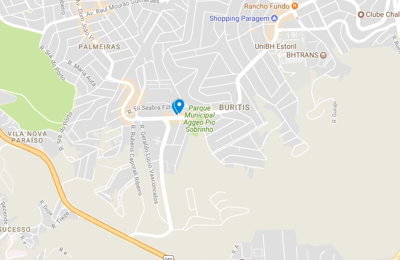 Mapa 3: Localização das duas ofertas no bairro Buritis.