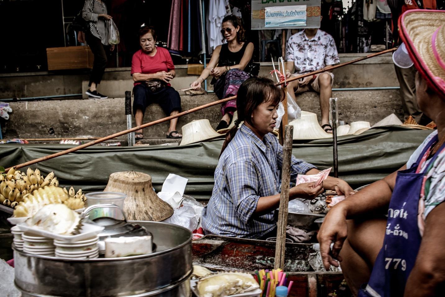 Bang Phli Floating Market