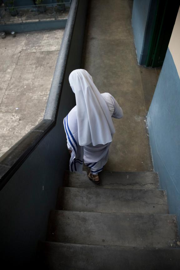 KOLKATA, INDIA 1 SEPT: Images from the Saint Teresa School