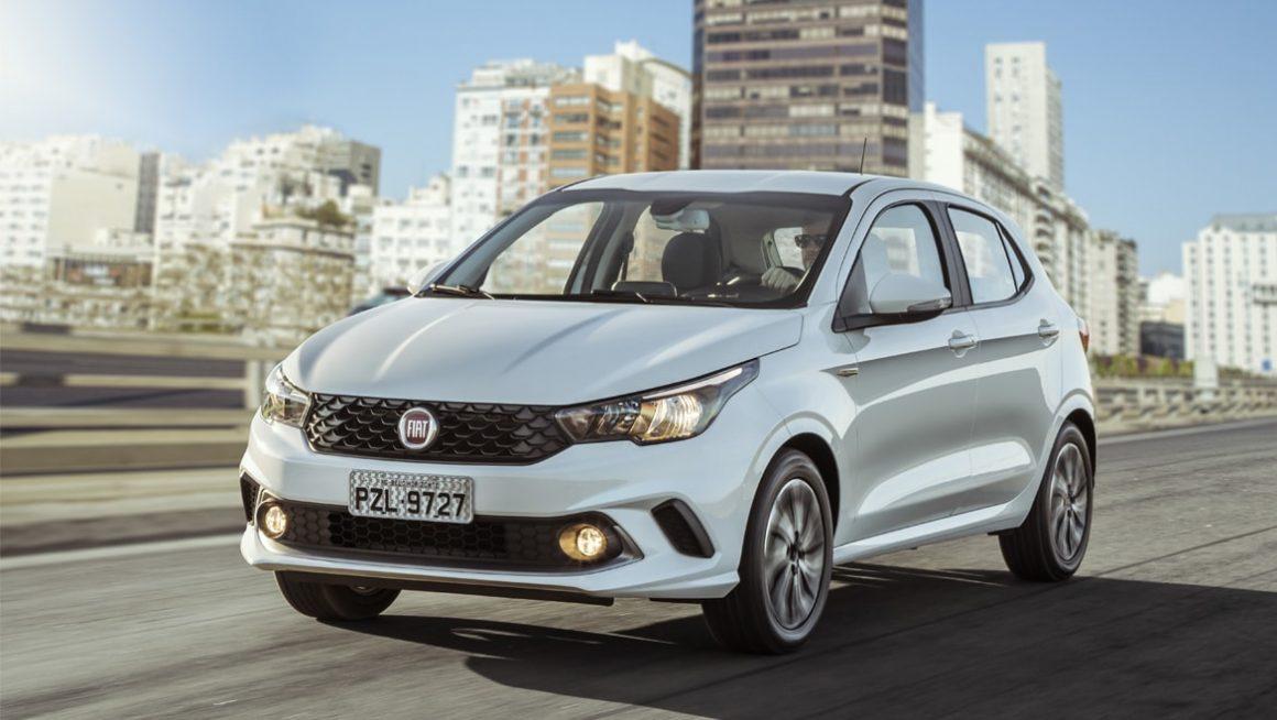 Fiat Argo 1.0 tem bom consumo na cidade (14,2 km/l) e também na estrada (14,5 km/l) (Fonte: Fiat/Divulgação)
