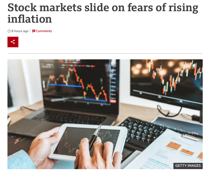 Why are tech stocks dropping, fears of rising inflation