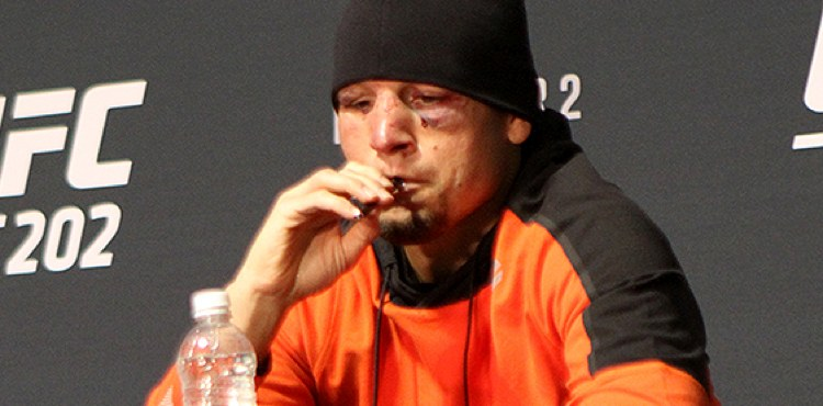 Athletes and CBD - Date Diaz - MMA