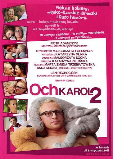 Tył ulotki filmu 'Och, Karol 2'