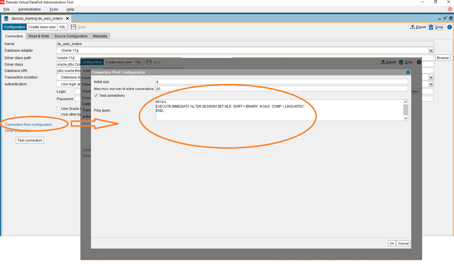 How to configure Oracle NLS for case insensitive searches