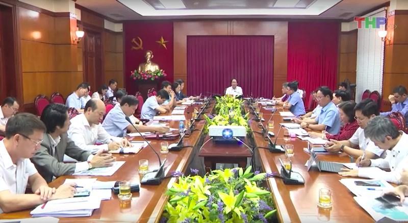 Buổi làm việc của lãnh đạo Thành phố Hải Phòng cùng Tập đoàn FLC.