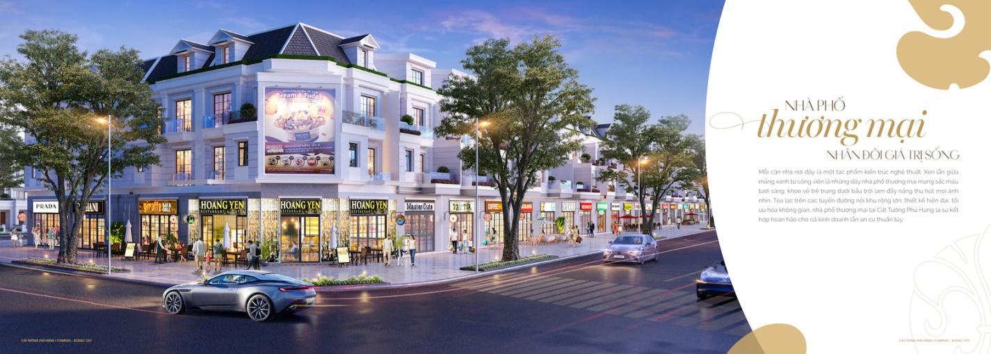 Lợi ích khi sinh sống trong những khu nhà thương mại của Cát Tường Phú Hưng