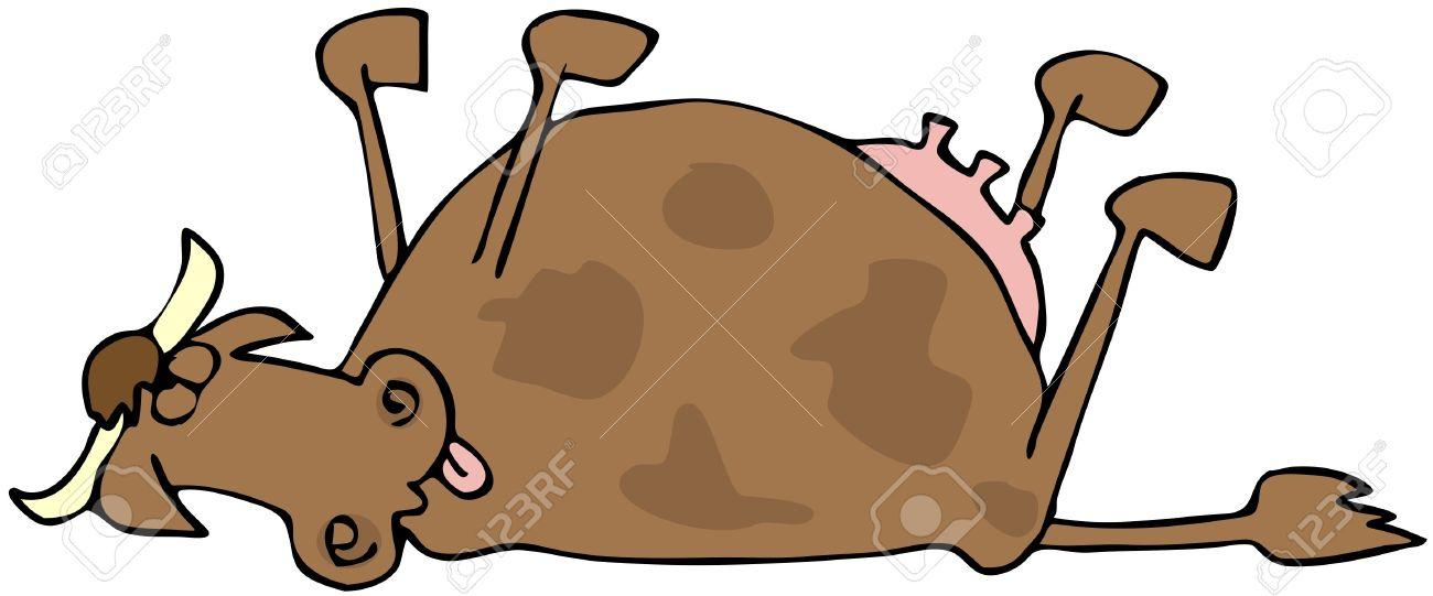 http://previews.123rf.com/images/caraman/caraman1010/caraman101000009/7940236-Dead-Cow-Stock-Photo-cartoon.jpg