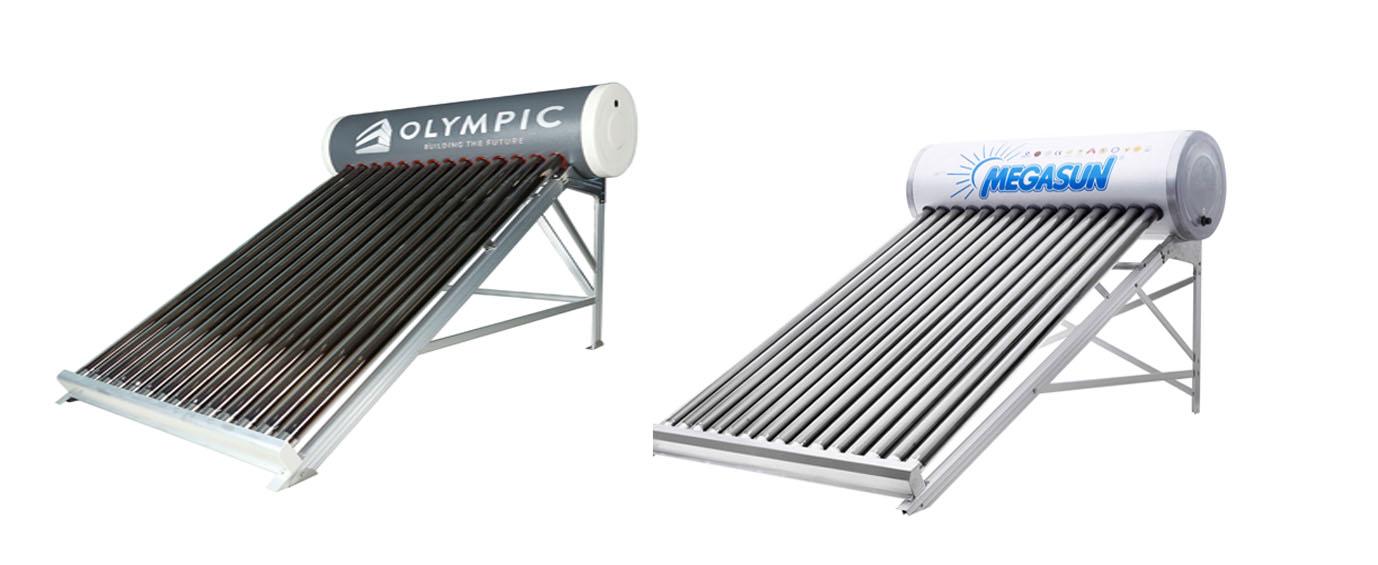 Máy năng lượng mặt trời Olympic và Megasun