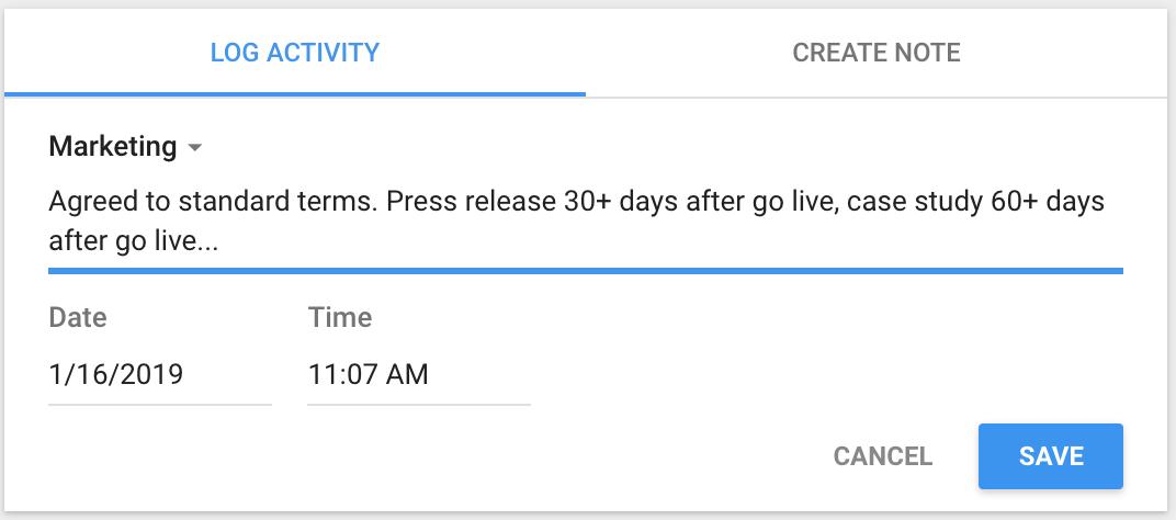 copper crm alerts get sent to your google calendar