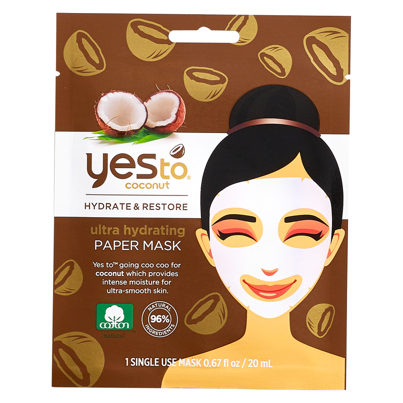 Yes To Coconut Hydrating Paper Face Mask