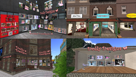 Dolly Designs shoppins