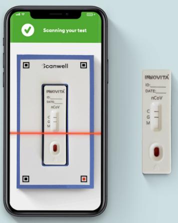 Teste de coronavírus Scanwell