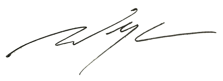 Dr Chen's Signature