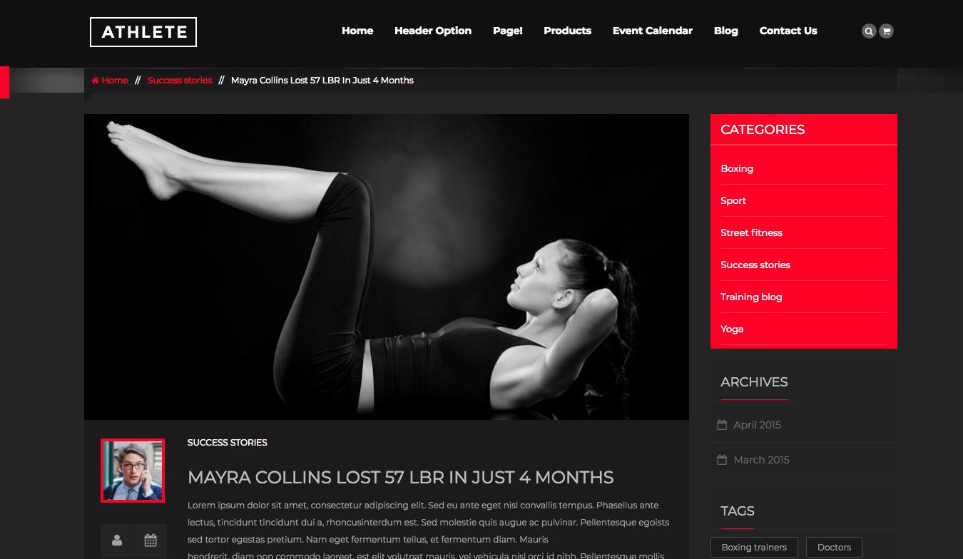 Conceptions de Website de fitness en 2020 et comment améliorer la vôtre 8