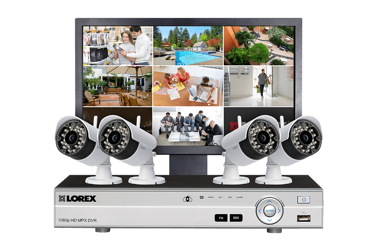 LW84MW security camera system