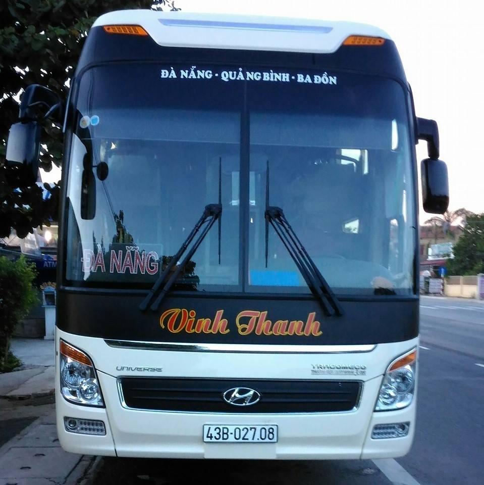 Xe Vinh Thanh từ Đà Nẵng đi Quảng Bình
