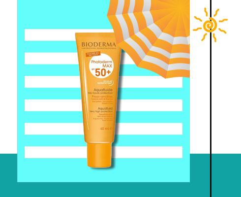 sunscreen for oily Skin- Bioderma Photoderm Max Aquafluide Spf 50+