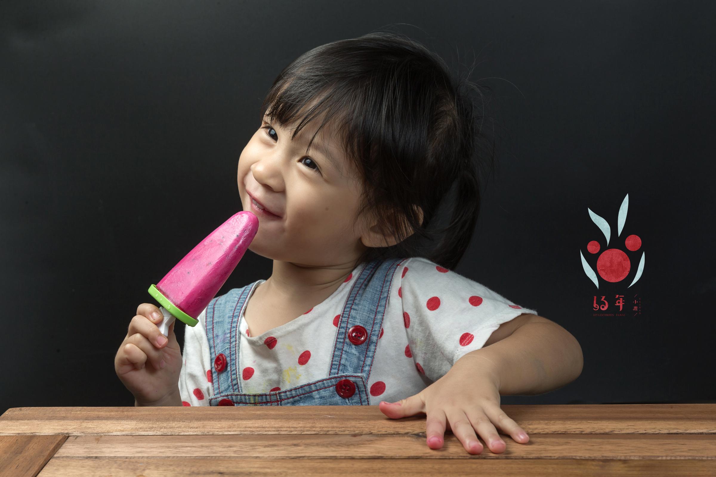 加上自製優格,輕鬆完成火龍果優格冰棒