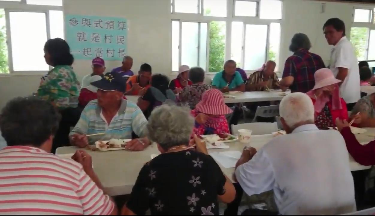 社區共餐樂融融!--阿蘭姐的故事