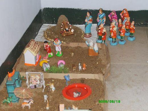 """No Golu is complete without a """"Park"""" inside!"""