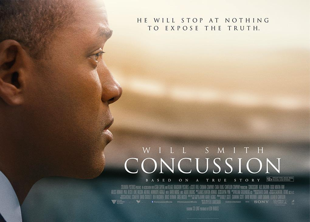 """Bộ phim"""" Concussion """"kể về cuộc nghiên cứu của Oamaru về căn bệnh chấn thương sọ não mãn tính"""