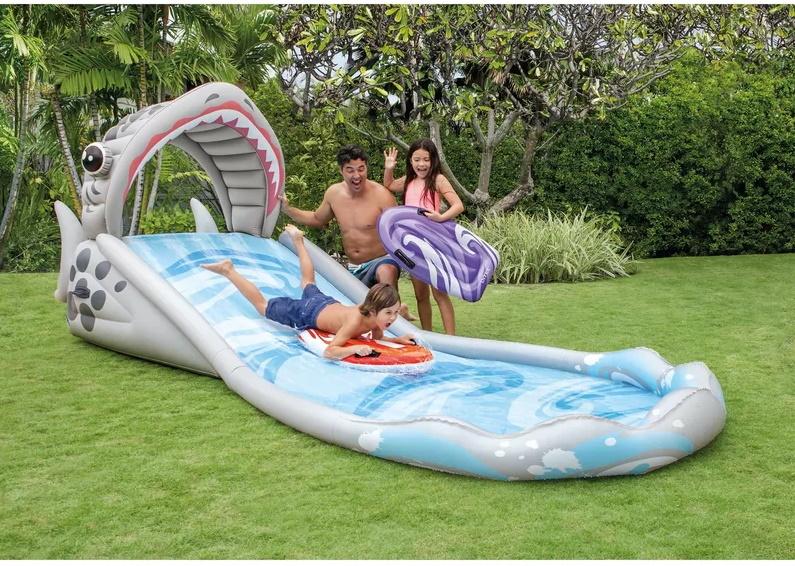 water play slide