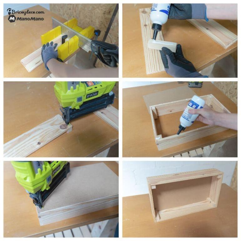 cut & glue your wooden boards together