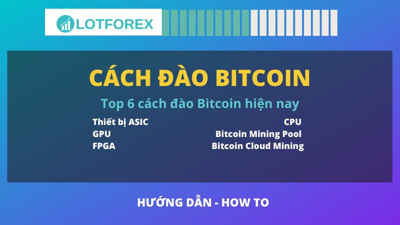 cách đào bitcoin
