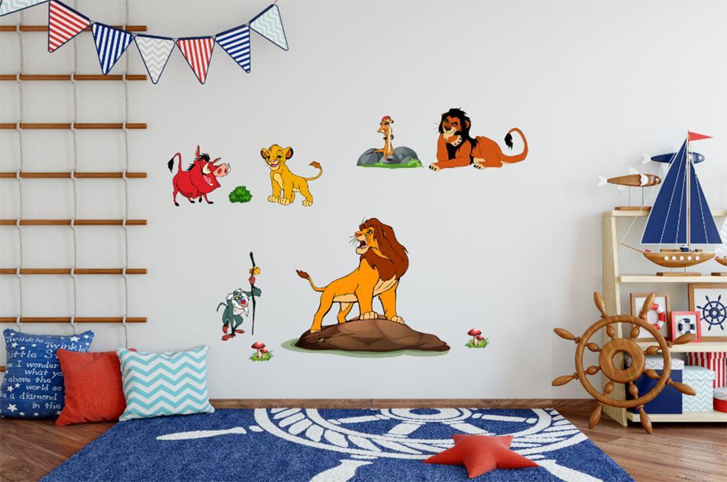 Decal trang trí tường - 290181