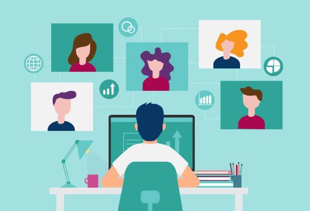 6,318 Virtual Event Illustrations & Clip Art - iStock