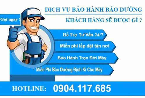 dịch vụ bảo hành số 1 tại Hà Nội