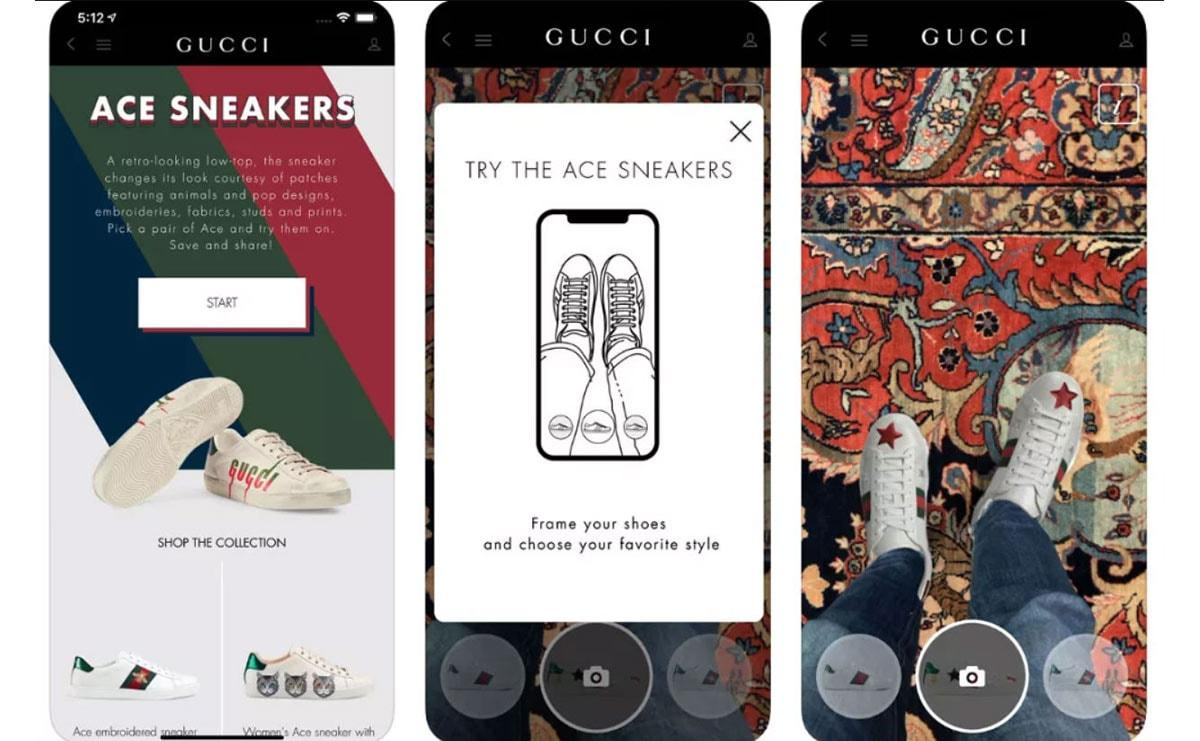 Image result for gucci ar campaign