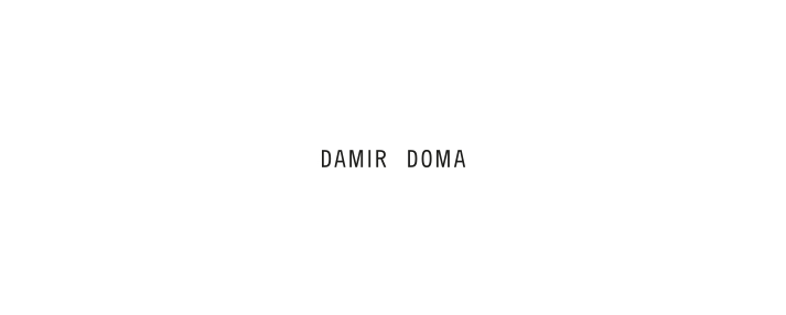 Shop Damir Doma at the Allotment Store