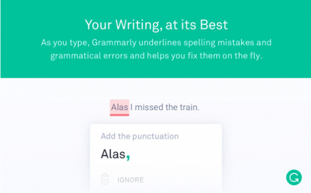 Grammarly chrome extensions for social media marketing