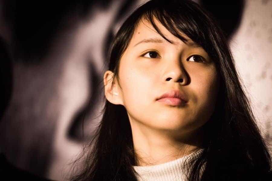Cô Agnes Chou, nhà hoạt động tích cực cho dân chủ Hồng Kông