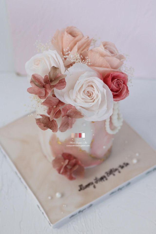 生日蛋糕moeisugarart