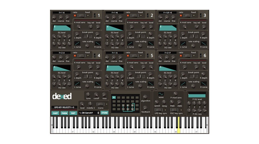 Dexed free fm vst instrument