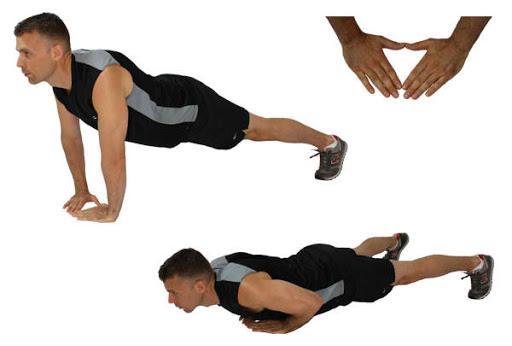 Bài tập Hít đất đơn giản – bài tập gym tại nhà đơn giản nhất cho nam