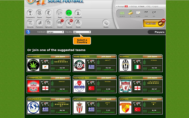 juego futbol online: