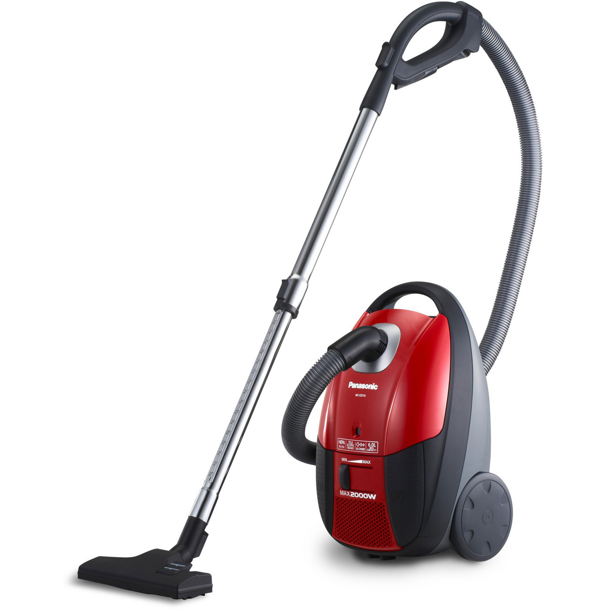 Panasonic is one of the leading vacuum cleaner brands on the market Source; lulu.com