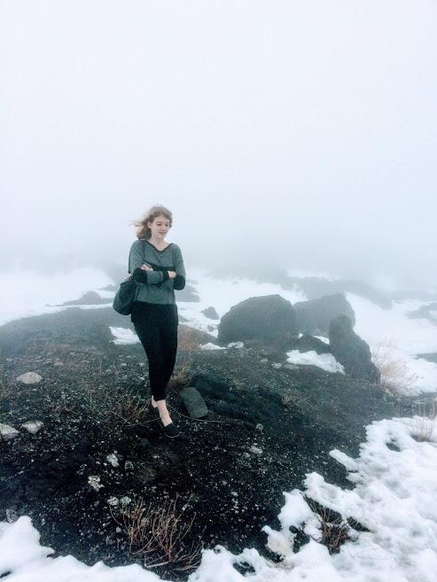 Visiting Mount Etna in winter (February)
