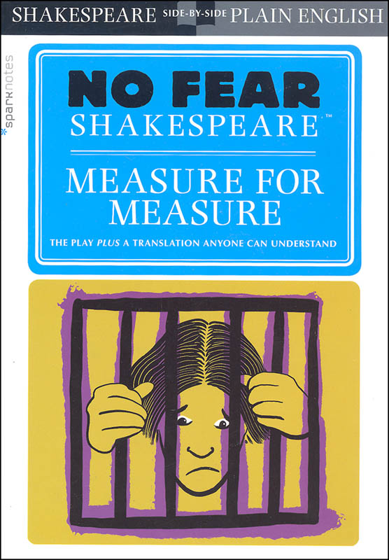 Measure for Measure (No Fear Shakespeare) | Spark Publishing ...